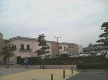 マリンピア神戸 駐車場からの写真